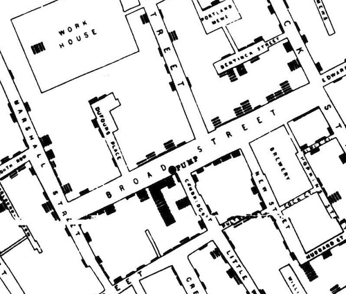 Snow cholera map SM