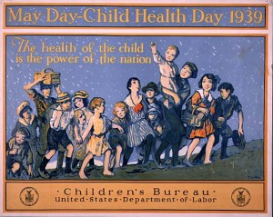 Child Health Day 1939: 'The health of the child is the power of the nation'