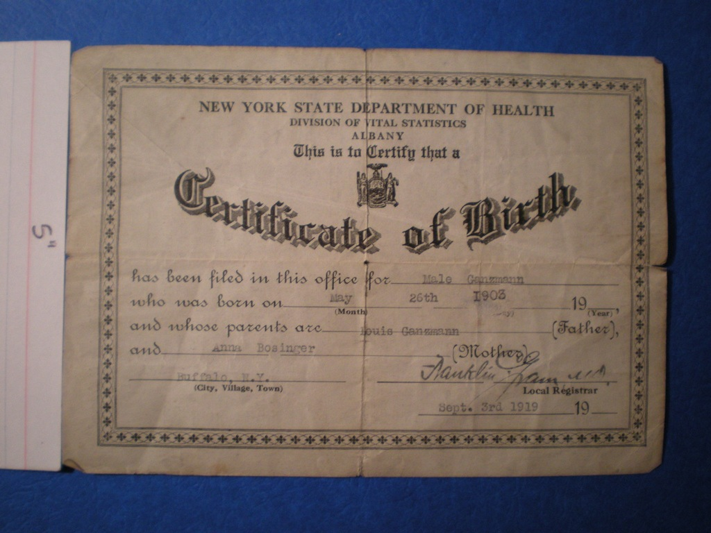 Everything You Need To Know To Get A New Birth Certificate In New