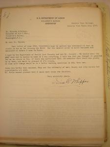 Ionia R. Whipper, Prairie View, Texas to Blanche M. Haines, July 8, 1928