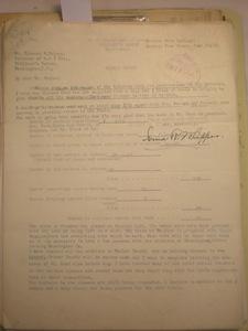 Ionia R. Whipper, Prairie View, Texas to Blanche M. Haines, June 25, 1928