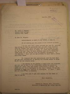 Blanche M. Haines to Ionia R. Whipper, Prairie View, Texas, June 29, 1928